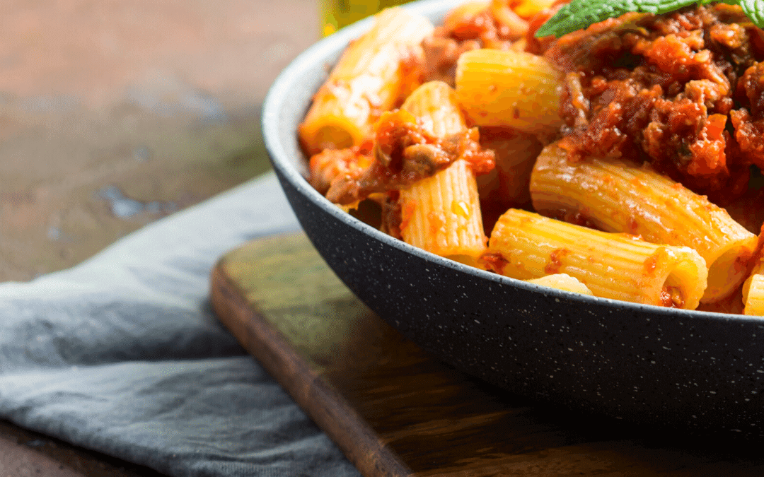 Easy Sausage / Roasted Veg Ragu